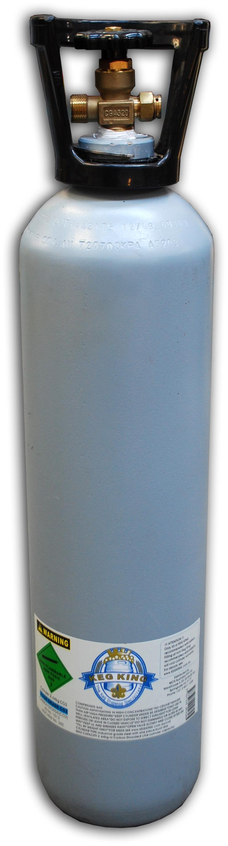 CO2 cylinder 6kg (NEW) - In store only